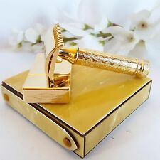 Lady Gillette Tuckaway Yellow set with brand new 24K Gold Plating 1116027
