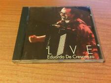 CD EDOARDO DE CRESCENZO LIVE FUORI CATALOGO  BMG 74321-30958-2 P 1995