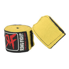 "Ring Fight Yellow Hand Wrap 180"" 1  Pair"