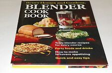 Books, Better Homes and Gardens Blender Cook Book, Recipes