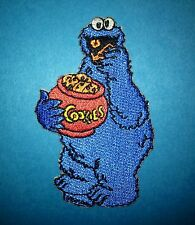 Cookie Monster Sesame Street Iron On Hat Jacket Hoodie Backpack Patch Crest