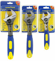 """Goodyear Adjustable Spanner Wrench 200mm (8"""") Or 250mm (10"""") Or 300mm (12"""")"""