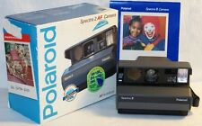 Vintage POLAROID SPECTRA 2 AF Camera With original Box and User Manual