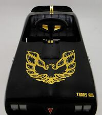 Pedal Car Trans Am 1970s Black Firebird Rare Vintage Sport Midget Metal Model