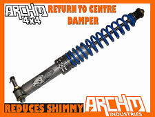 TOYOTA LANDCRUISER 78/79 SERIES V6only ARCHM4x4 RETURN TO CENTRE STEERING DAMPER