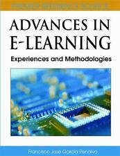 Advances in E-Learning: Experiences and Methodologies-ExLibrary