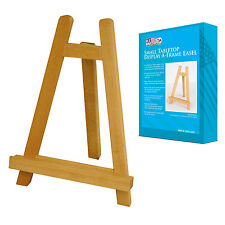 "Small 11"" Tall Wood Tabletop Display A-Frame Art Painting Easel Stand 1-Easel"