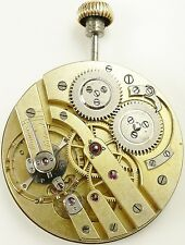 High Grade Swiss Pocket Watch Movement - Wolf-Tooth Wind - Spare Parts / Repair