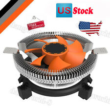 CPU Cooling Cooler Fan Heatsink 7 Blade For Intel LGA 775 1155 1156 AMD 754 AM2