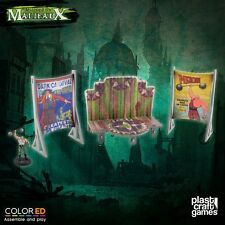 Plast Craft Games Colored Malifaux Circus Stage set box new