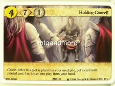 A Game of Thrones LCG - 1x Holding Council  #059 - Westeros Draft Pack