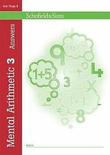 Mental Arithmetic Answer Book 3 (Book 4 of 7): Key Stage 2, Years 3 - 6, R P Bea