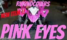 POLARIS PREDATOR 90 Outlaw 90 HEADLIGHT COVERS PINK EYE'S RUKIND COVERS
