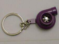 Burstflow Schlüsselanhänger Tuning Racing Turbolader Turbo LilaViolett Purple 23
