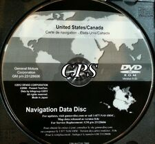 2013 GM North America Navigation System DVD Map Update 8.0c GM p/n 23128606 OEM