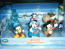 DISNEY MICKEY'S CHRISTMAS CAROL FIGURE PLAY SET SCROOGE TINY TIM GHOST GOOFY HTF