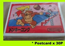 New Postcard post card amazon Japan limited Nintendo classic mini Famicom family