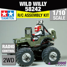 58242 TAMIYA Wild Willy 2 wr-02 1 / 10th R / C KIT RADIOCOMANDO 1/10 auto nuovo!