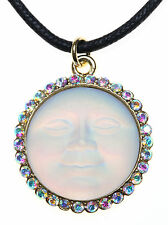 KIRKS FOLLY SEAVIEW MOON DUST 25mm NECKLACE   goldtone  NEVER RELEASED
