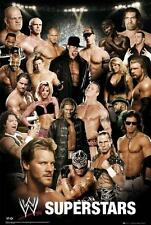Wwe Superestrellas: Collage-Maxi Poster 61cm X 91,5 Cm (nuevo Y Sellado)