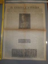 IL GIORNALE D'ITALIA 21 aprile 1927 - Celebrando il Natale di Roma millenaria...