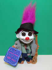 "HOBO - 5"" Russ Troll Doll - NEW WITH HANG TAG  - Magenta Colored Hair - LAST ONE"