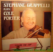 Stéphane Grappelli plays Cole Porter  Festival album double 240 stéréo