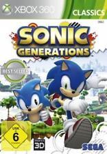 XBOX 360 Sonic Generations Deutsch TopZustand