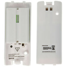 2xNew White 2800mAh Rechargeable Battery Pack For Nintendo Wii Remote Controller