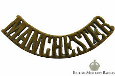 Original: The Manchester Regiment Shoulder Title Badge