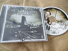 PITMAN : IT TAKES A NATION OF TOSSERS CD ALBUM RAP HIP HOP 2003