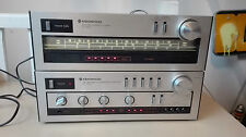 chaine hifi kenwood trio stereo integrated amplifier  ka 400 et tuner kt 400