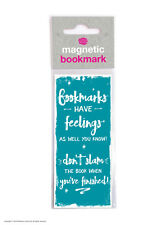 Brainbox Candy Bookmarks Have Feelings magnetic reading funny novelty cheap gift