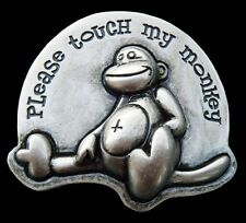 Cool Touch My Monkey Belt Buckle Buckles Humor Boucle de Ceinture