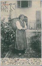 CARTOLINA d'Epoca SONDRIO - Morbegno COSTUMI 1901
