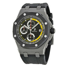 Audemars Piguet Royal Oak Offshore Black Dial Rubber Mens Watch