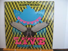 HAWKWIND Live Seventy Nine 1980 BRONZE RECORDS VINYL LP Free UK Post