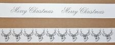 PAPER CHAIN Garland Decoration - STAG/Rustic/Christmas/WOODLAND