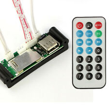 5-12V DIY USB/SD/MMC MP3 WAV AUX Amplifier Decoder Board Module RC Controller