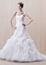 Enzoani Gilda Wedding Dress UK14 Ivory Tulle