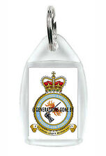 ROYAL AIR FORCE FIRE RESCUE KEY RING ACRYLIC