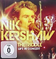 CD DVD Nik Kershaw The Riddle Live In Concert CD & DVD Set