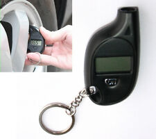 Useful Keychain LCD Digital Tire Tyre Air Pressure Gauge For Car Auto Motorcycle