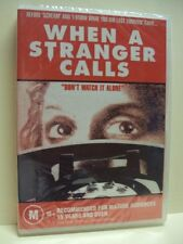 WHEN A STRANGER CALLS – DVD [THE ORIGINAL] CHARLES DURNING, CAROL KANE, REGION 0