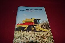 New Holland TR86 TR96 Twin Rotor Combine Dealer's Brochure DCPA2 3-85