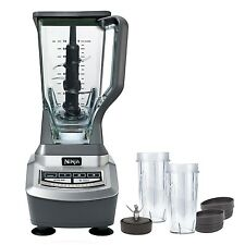 Ninja 1100W Professional Blender w/Single Serve (BL740) (Certified Refurbished)