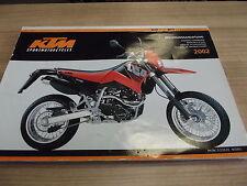 KTM manuale di istruzioni utilizzo fascicolo 640 LC 4 Supermoto 2002