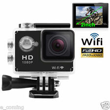 170 ° Full HD Wifi SJ4000 1080P Car Cam Sports Camera DV Action Waterproof