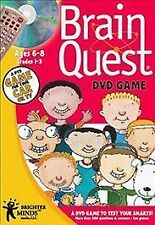 DVD VIDEO GAME Brain Quest Ages 6-8 Grades 1-3 Travel Edition NEW SEALED