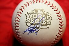 BRANDON BELT AUTOGRAPHED AUTO SIGNED 2012 WORLD SERIES BASEBALL GIANTS COA